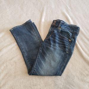American Eagle crop jeans size 4